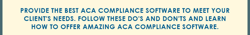 best aca compliance software