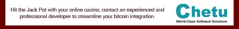 bitcoins integration at Chetu