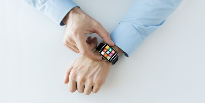 a chetu customer tries wearable technology
