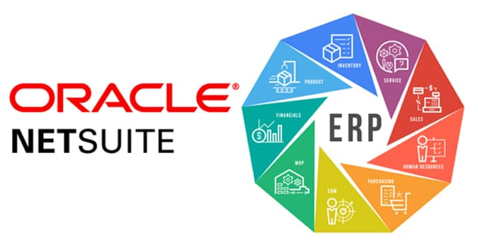 NetSuite ERP solutions graphic