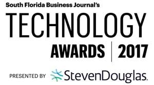 South Florida Business Journal's Technology Awards 2017