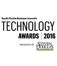 South Florida Business Journal's Technology Awards 2016