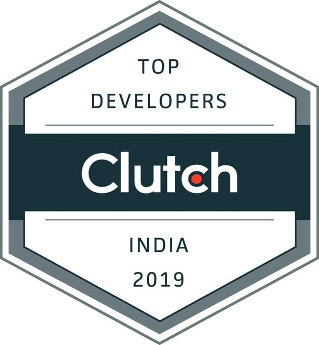 Clutch 2019 Top Developers India