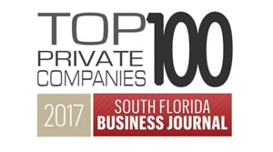 Top 100 Private Companies South Florida 2017