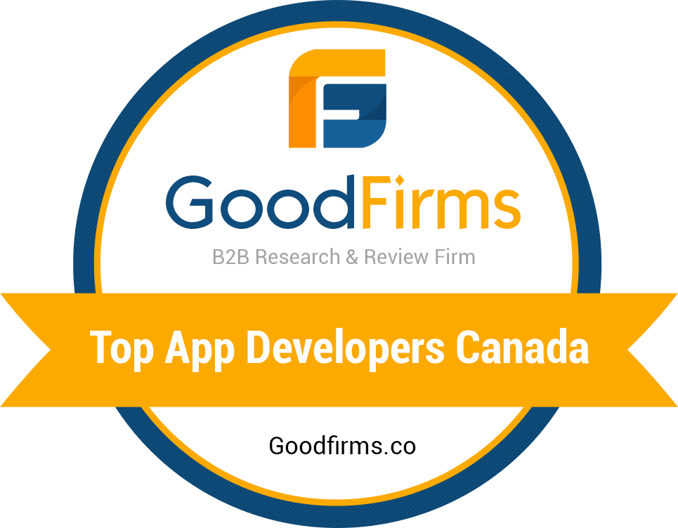 GoodFirms top app developers canada