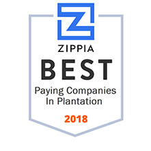 ZIPPA Best paying compnaies in plantation