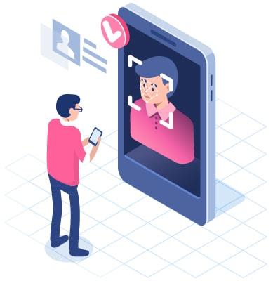 facial recognition vector