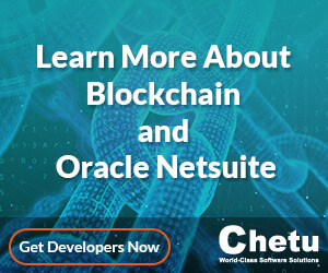Blockchain and Oracle Netsuite