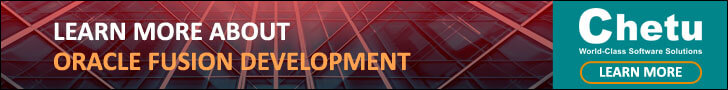 Oracle Fusion Development