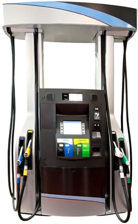Gas pump using Clover integrated POS solution