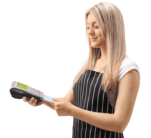 ACH payment and paper check processor