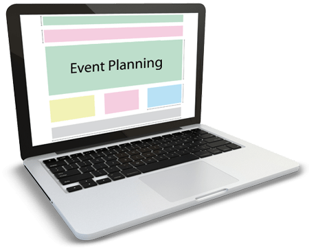Event planner using custom software developed by Chetu