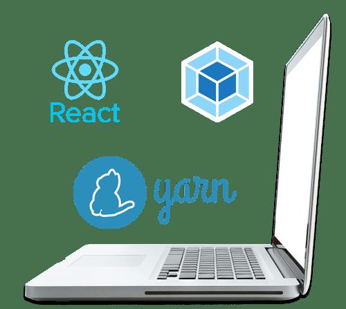 react webpack yarn