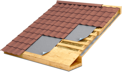 vector image of a roof