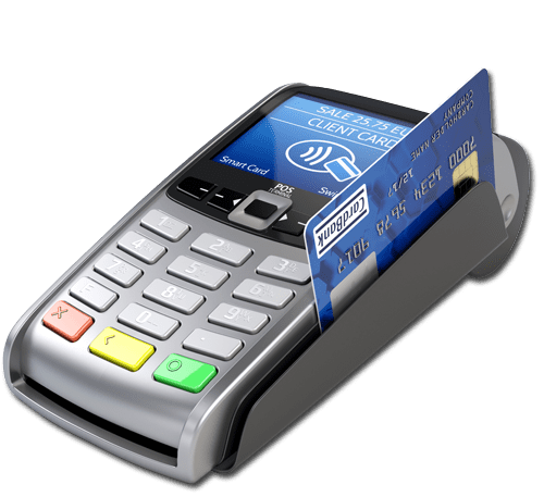 EMV chip card in a payment processor