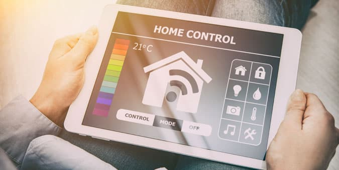 home automation handheld devices