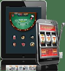 Tablet Running Casino game application