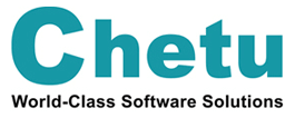 The logo for software development company chetu