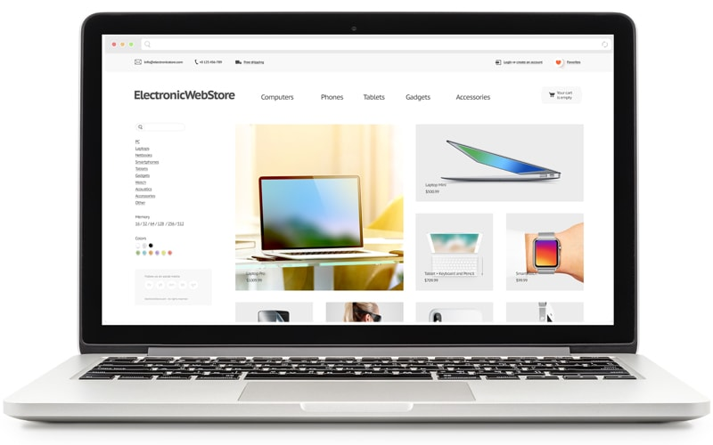 Magento commerce developers customizing a website