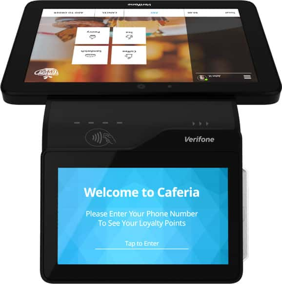 Integrated Verifone POS