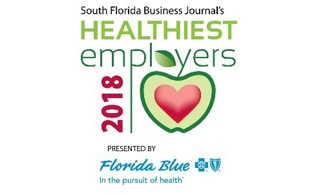 2018 healthiest employers