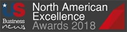 Us Business News North American Excellence Awards logo