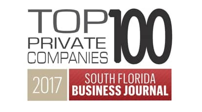 Chetu Named To The South Florida Business Journal's 2017 Top 100 Private Companies List