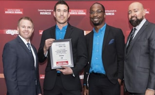 Chetu Ranked #3 for Dollar Growth & #15 for Percentage Growth at the SFBJ Technology Awards 2019
