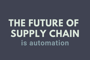 Future of Supply Chain is Automation