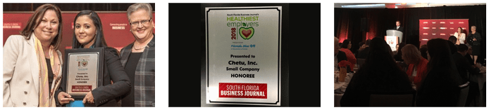 Chetu Among the 25 Companies Honored at the 2018 SFBJ's Healthiest Employers Awards