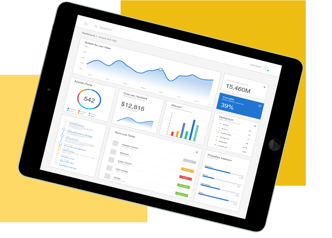 Microsoft Powerbi solutions Tablet
