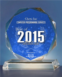 Chetu Inc Receives 2015 Best of Hialeah Award