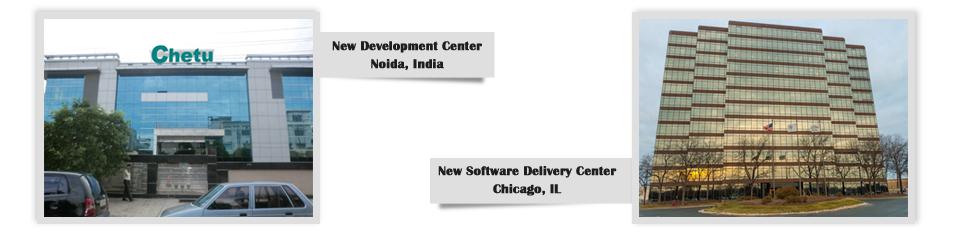 New software development center, Noida, India